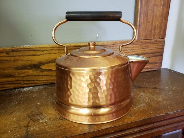 Gregorian Copper Teapot