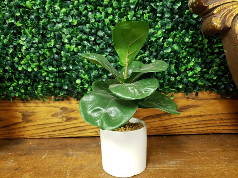 faux floral plant