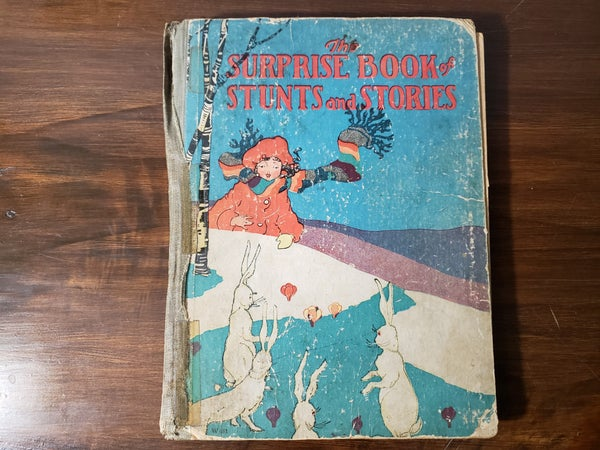 1927 the Suprise Book of Stunts and Stories