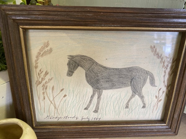 Horse drwaing