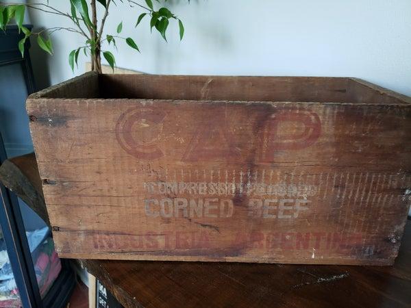Vintage Corned Beef Box