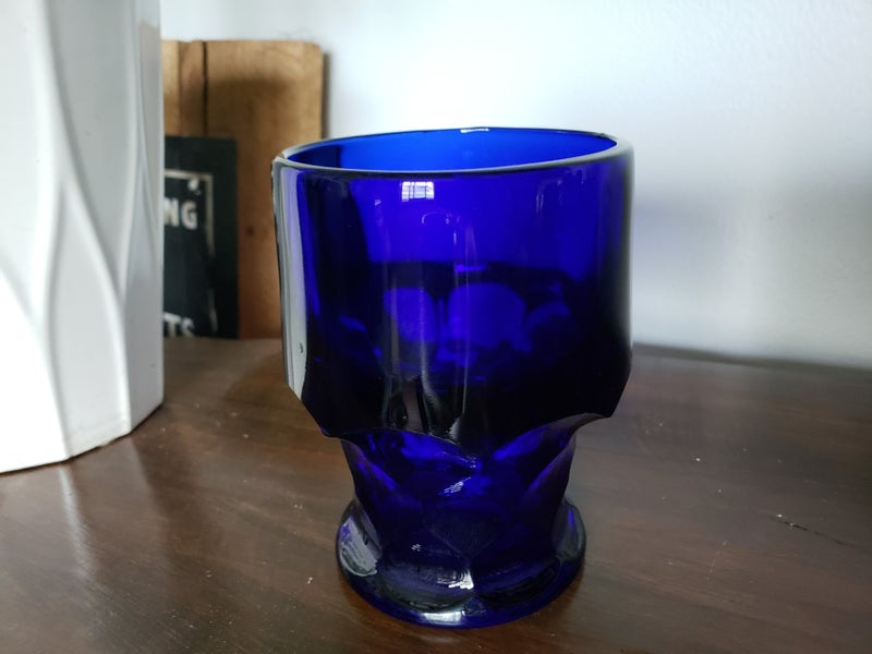 Vintage Blue Glass