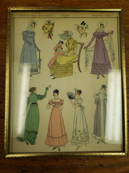 Fashion lady print