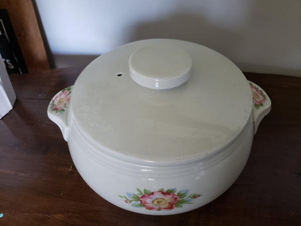 Hall Kitchenware Rose White