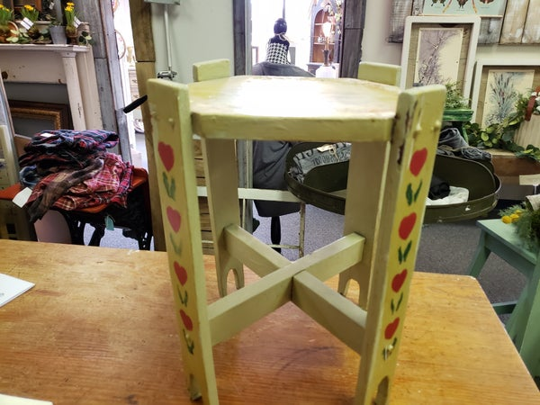 Hand painted plant stand— no shipping