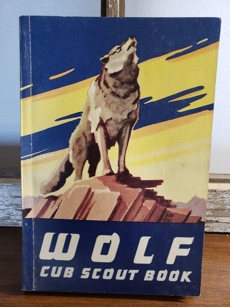 1963 WOLF CUB SCOUT BOOK