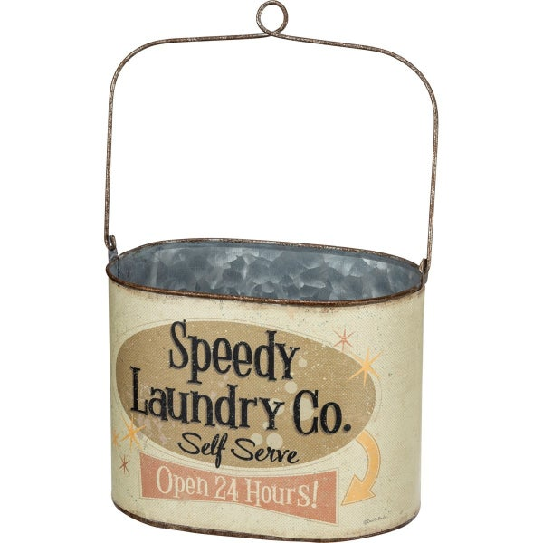 SPEEDY LAUNDRY BUCKET W/HANDLE