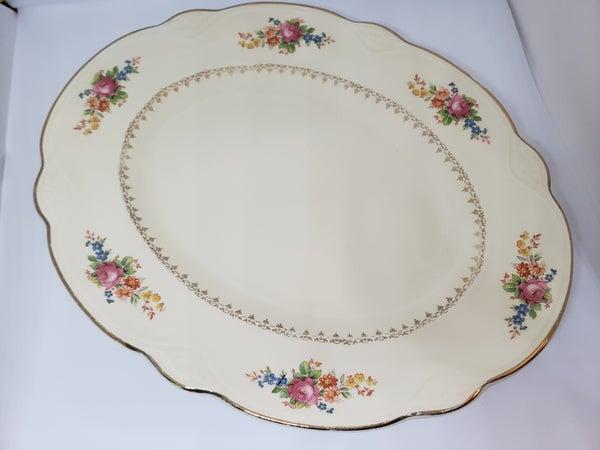 Homer Laughlin Platter