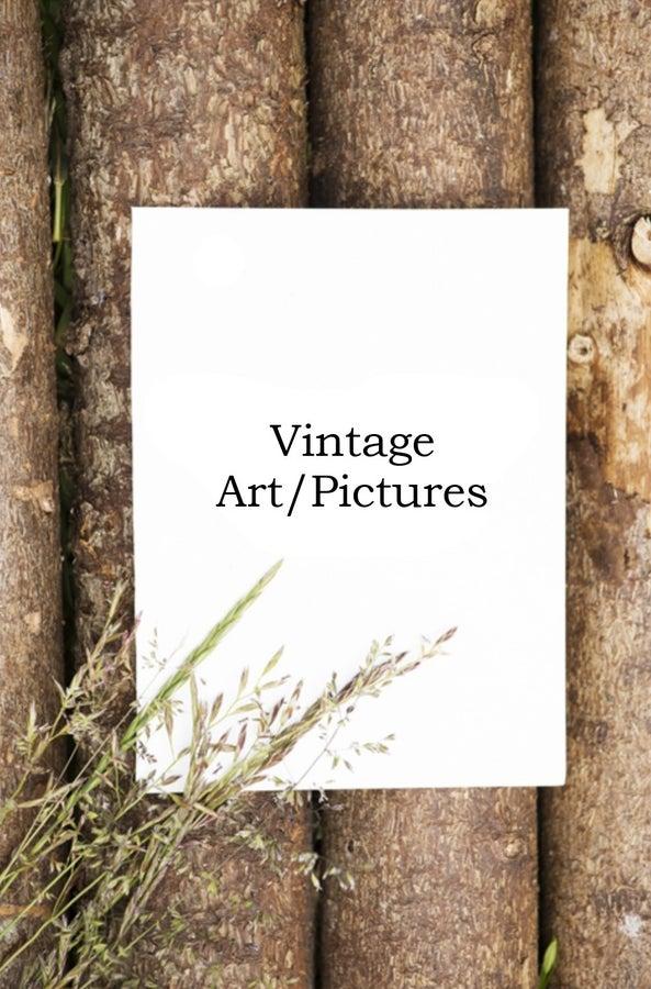 VINTAGE ART/PICTURES
