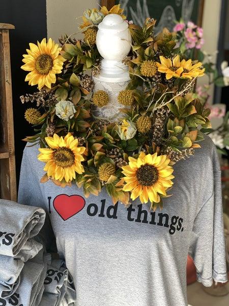 "Hello sunshine 14"" wreath"