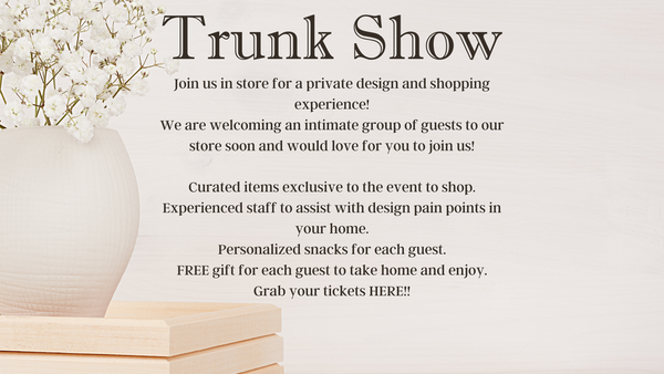 PRIVATE EVENT TICKET- Trunk Show *Final Sale*