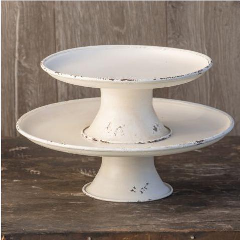 White Rounded Pedestal