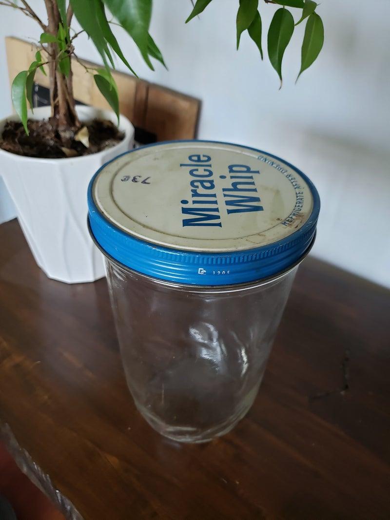 Miracle Whip Jar