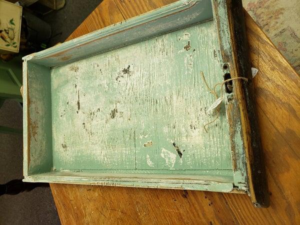 Blue chippy drawer