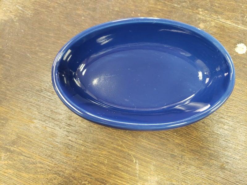 Cobalt blue dish