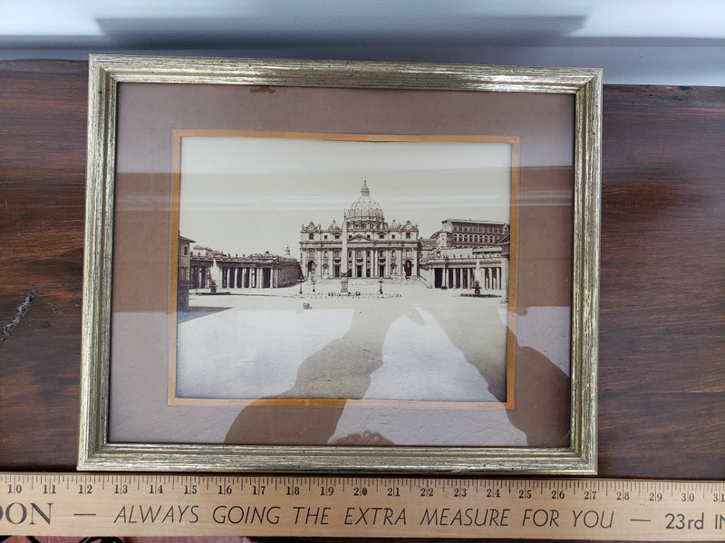 Framed Vatican picture