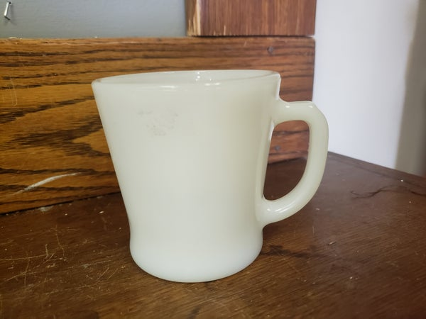 Milk Glass Mug