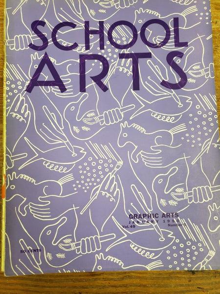 Vintage School Arts Magazine