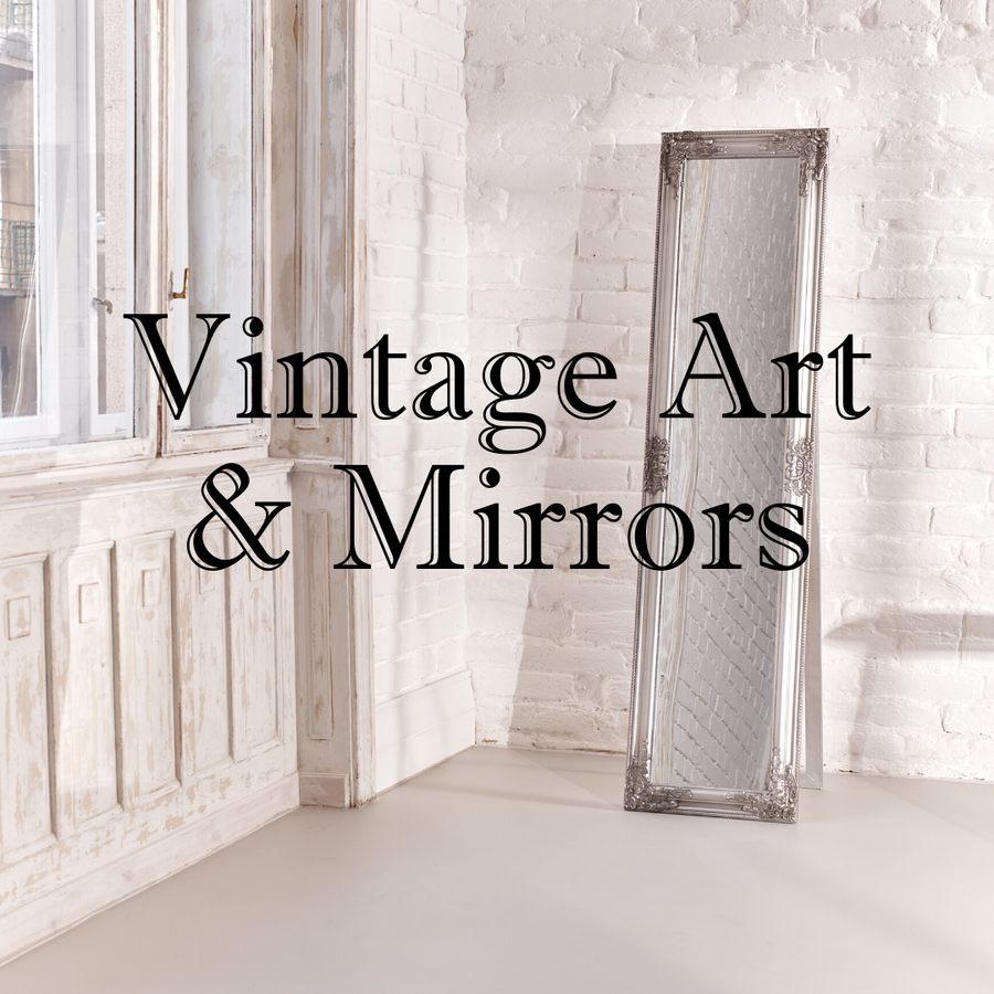 Vintage Art and Mirrors
