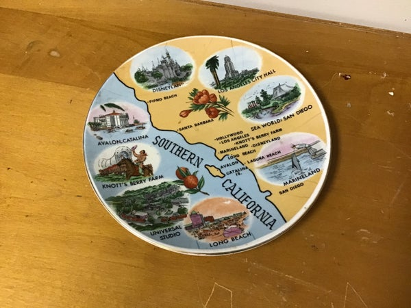 Southern California Vintage Dish
