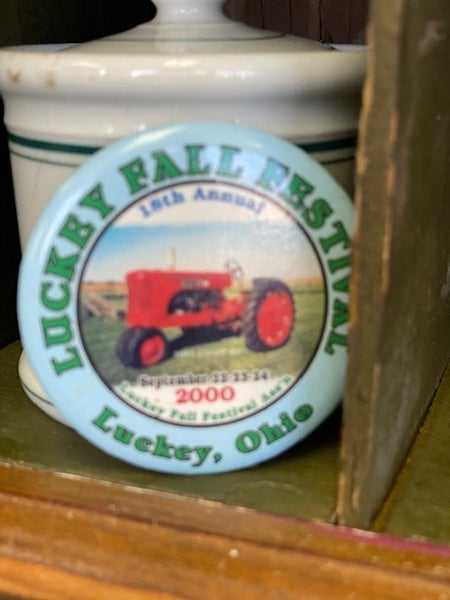 Lucky tractor pin