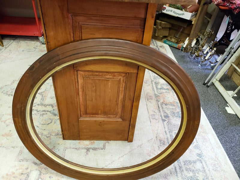 Oval frame— no shipping
