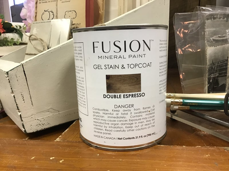 Fusion Gel Stain and Top Coat Quart