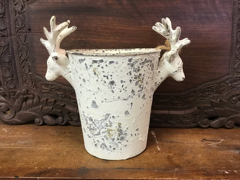 "Small 10"" Stag Planter"