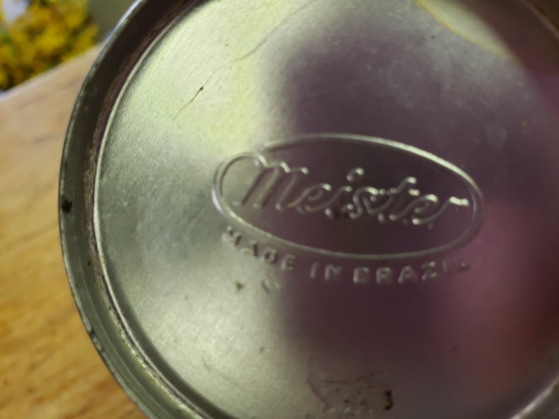 Meister Made In Brazil Tin