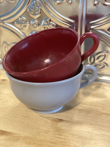 Set of two Fireking cups