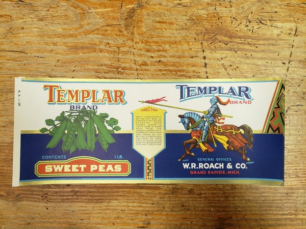 Original Templar Sweet Peas-UNUSED