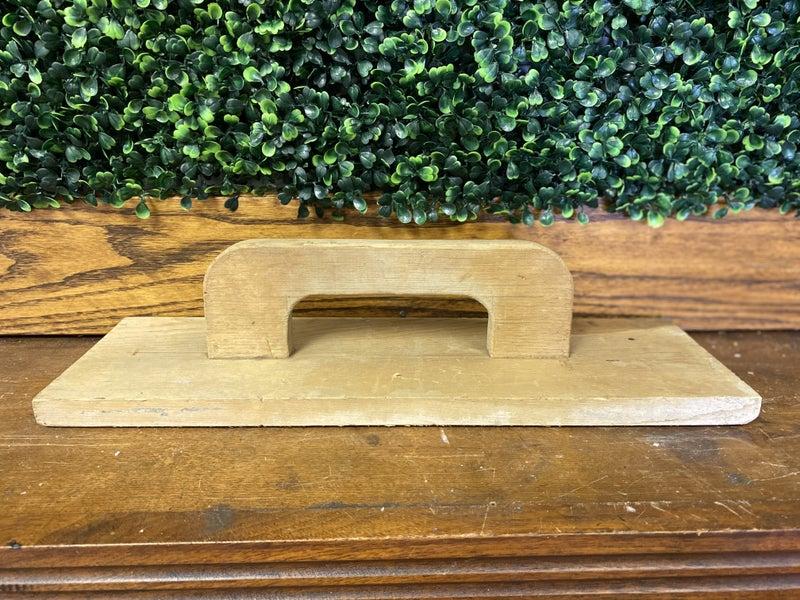 Wood tile float