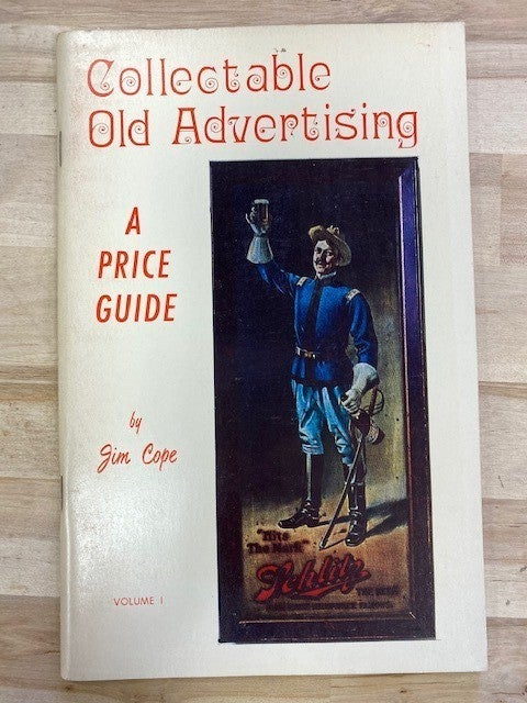 Collectible old advertising price guide