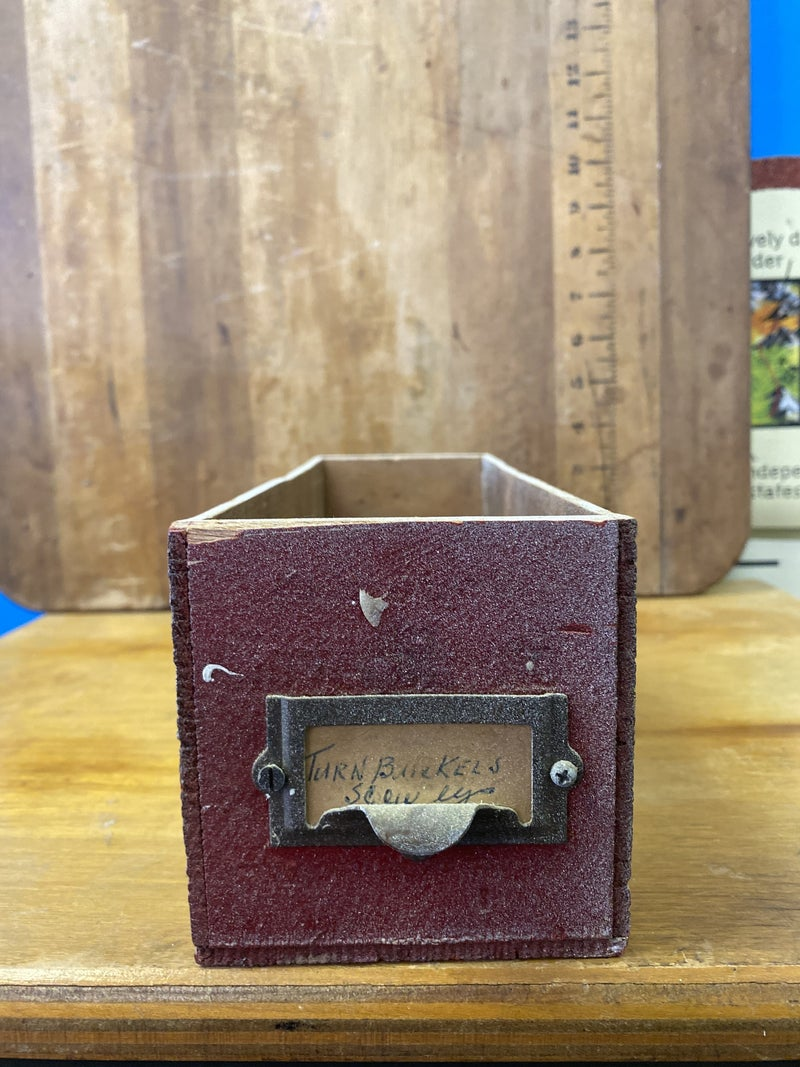Wood cheese box drawer