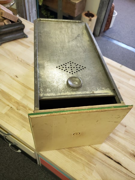 vintage bread drawer