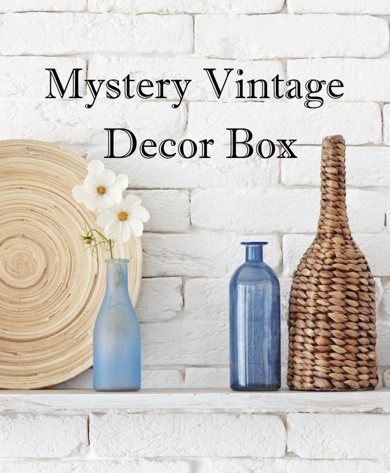 Mystery Vintage Home Decor Box