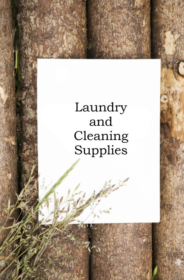 LAUNDRY AND CLEANING SUPPLIES