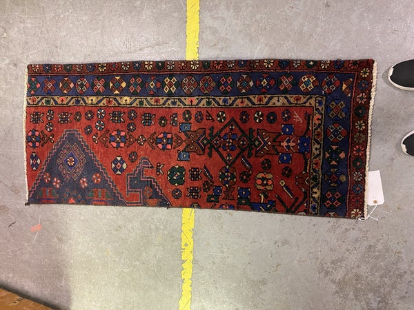 1903'S VINTAGE HERIS SERAPI ESTATE RUG
