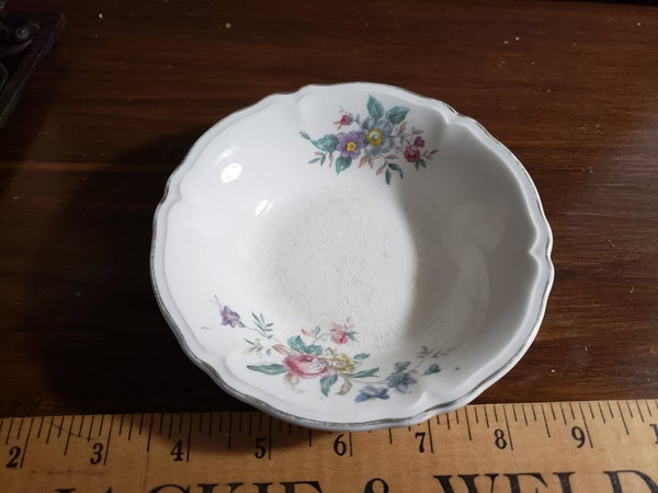 Edwin Knowles China-Small Flower Bowl