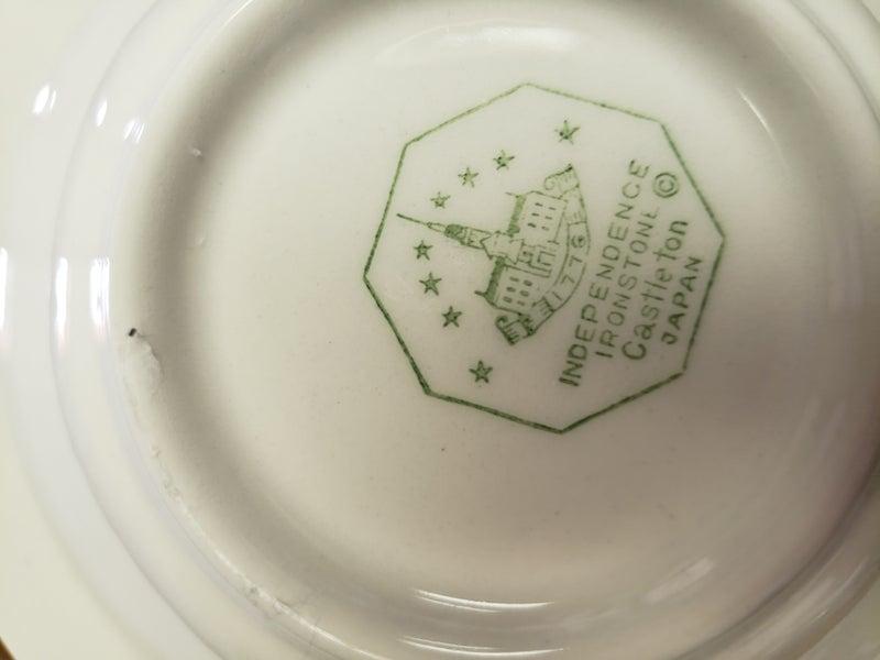 Independence iron stone bowl