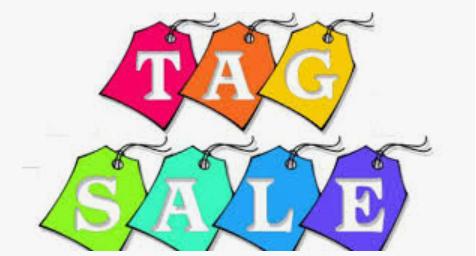 Online tag sale