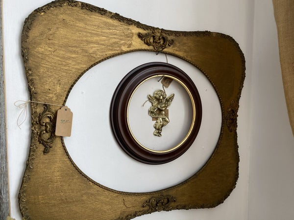 Gold Wood Frame-NO SHIPPING