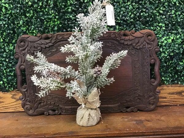 "19"" Snowy Pine Tree"