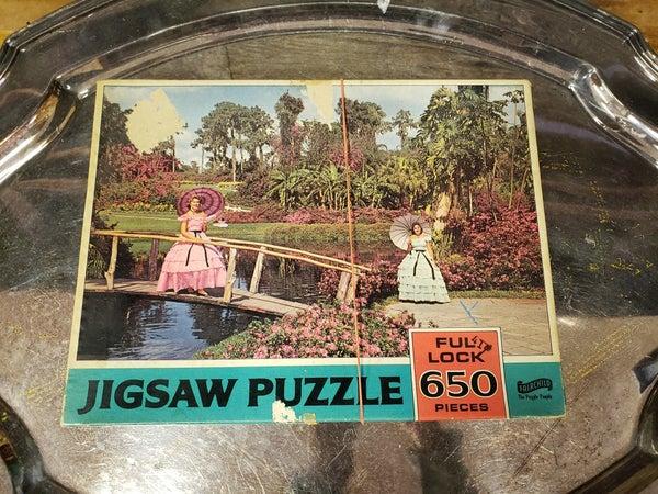 Vintage jigsaw puzzle