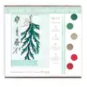 Holiday Botanicals Card Set-Paint By Numbers