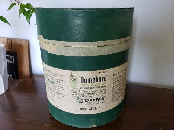 Vintage Domeboro Container
