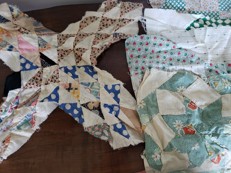 Set of 4 quilt pieces