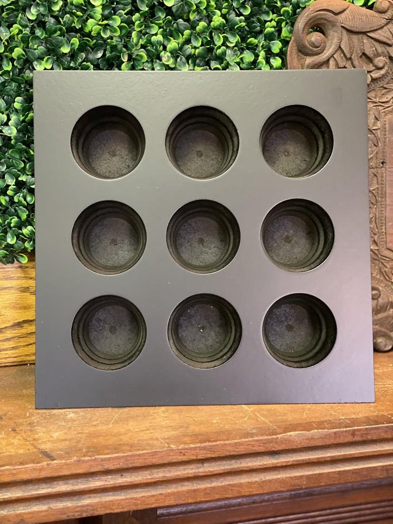 Steel sugar mold - 12 holes