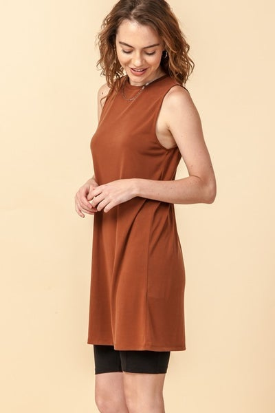 Hazelnut Basic Dress