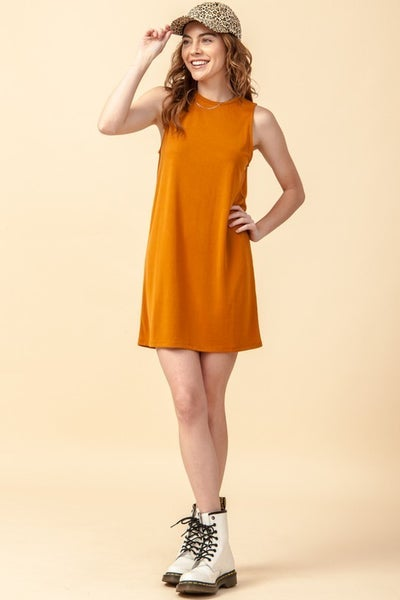 Cinnamon Basic Dress
